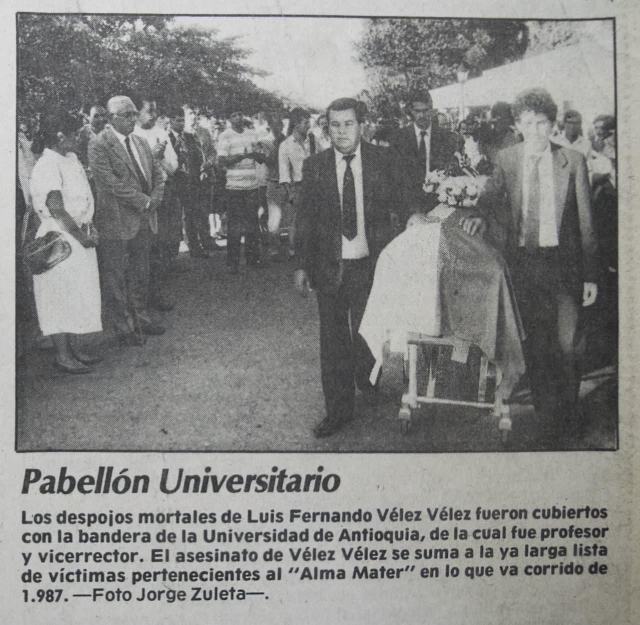 Imágenes vía El Colombiano y Fondo Documental del Archivo Histórico de la Universidad de Antioquia