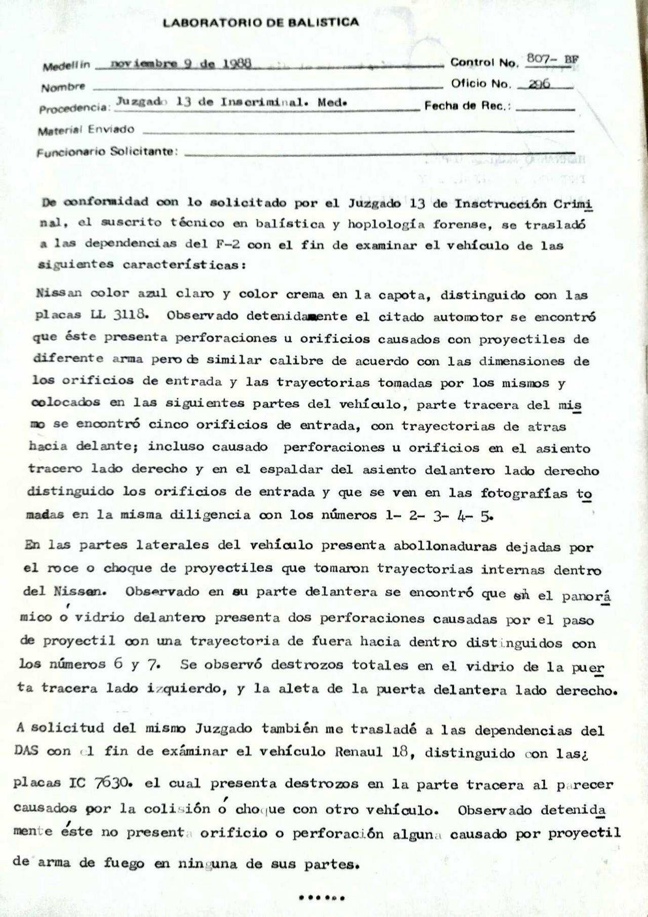 Imágenes vía El Colombiano y Proceso Judicial fotos de Laura Cardona