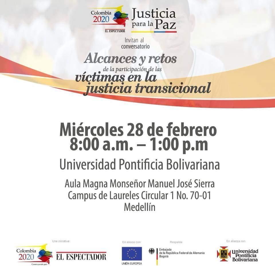 Compartimos la invitacin de eecolombia2020 para el mircoles 28 dehellip