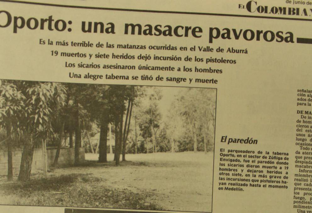 Masacre en el bar Oporto, 26 años de impunidad