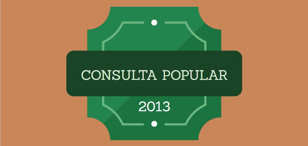 Consulta Popular 2013