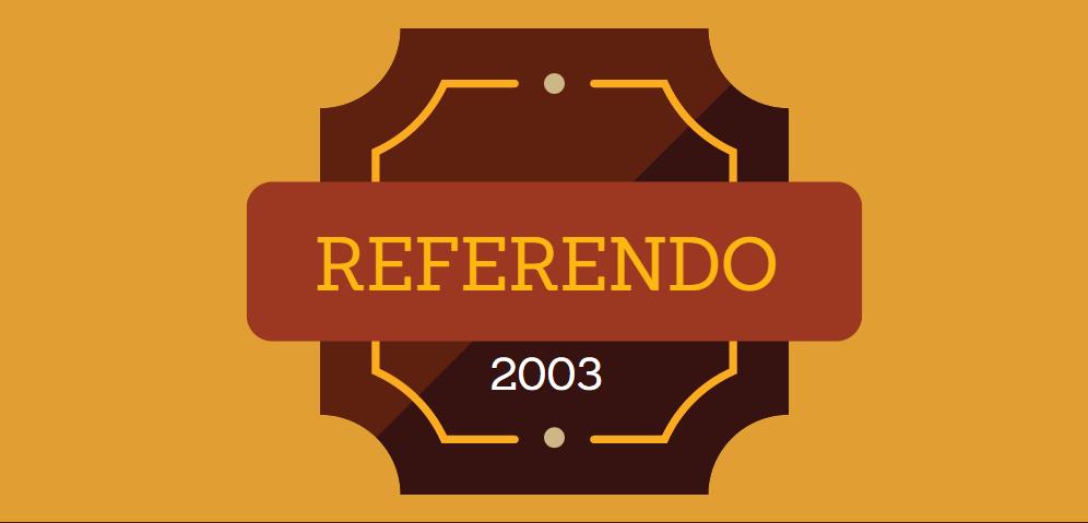 Referendo 2003
