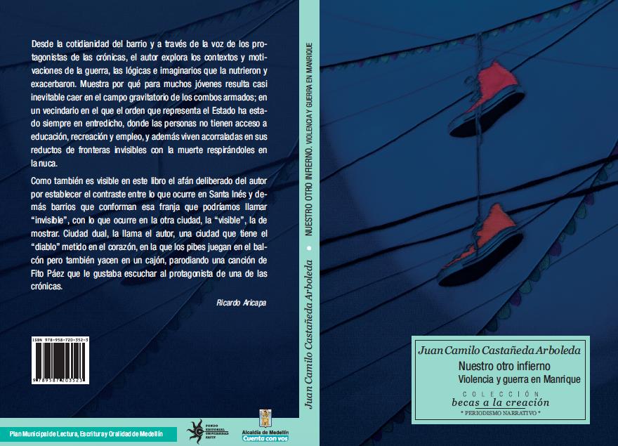 """""""Nuestro otro infierno"""": un libro de crónicas sobre la violencia en Medellín"""