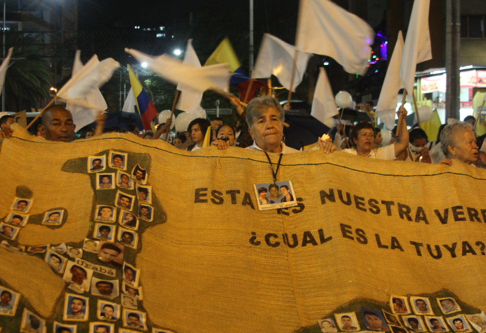 ¡Medellín gritó Acuerdo ya!