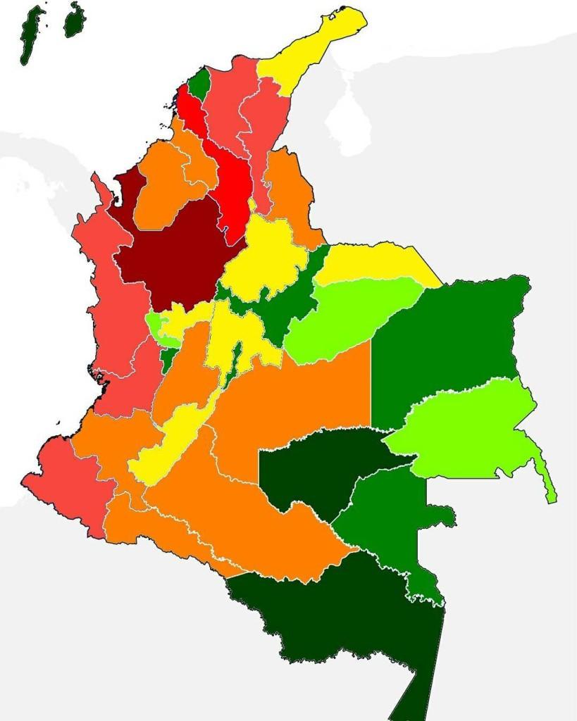 Los ltimos datos sobre desplazamiento forzado en Colombia dan cuentahellip