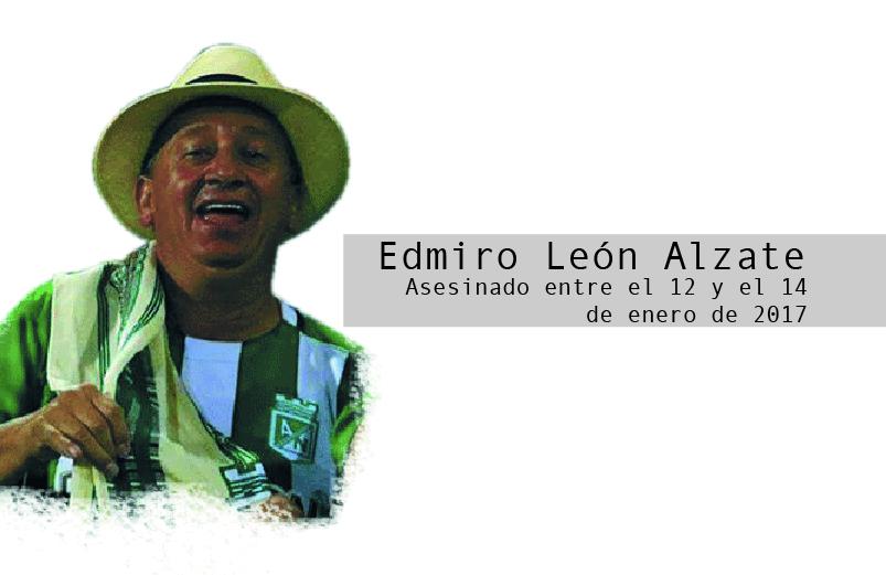 Edmiro León Alzate y la defensa del territorio