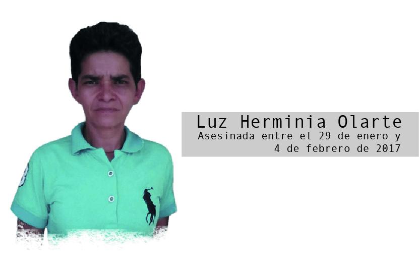 Luz Herminia Olarte: la justicia que calla