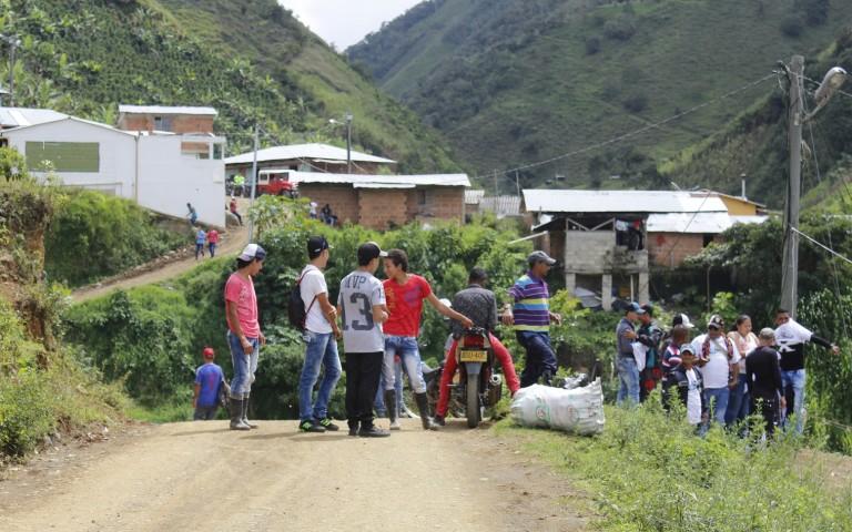 Santa Lucía espera mucho más de la paz