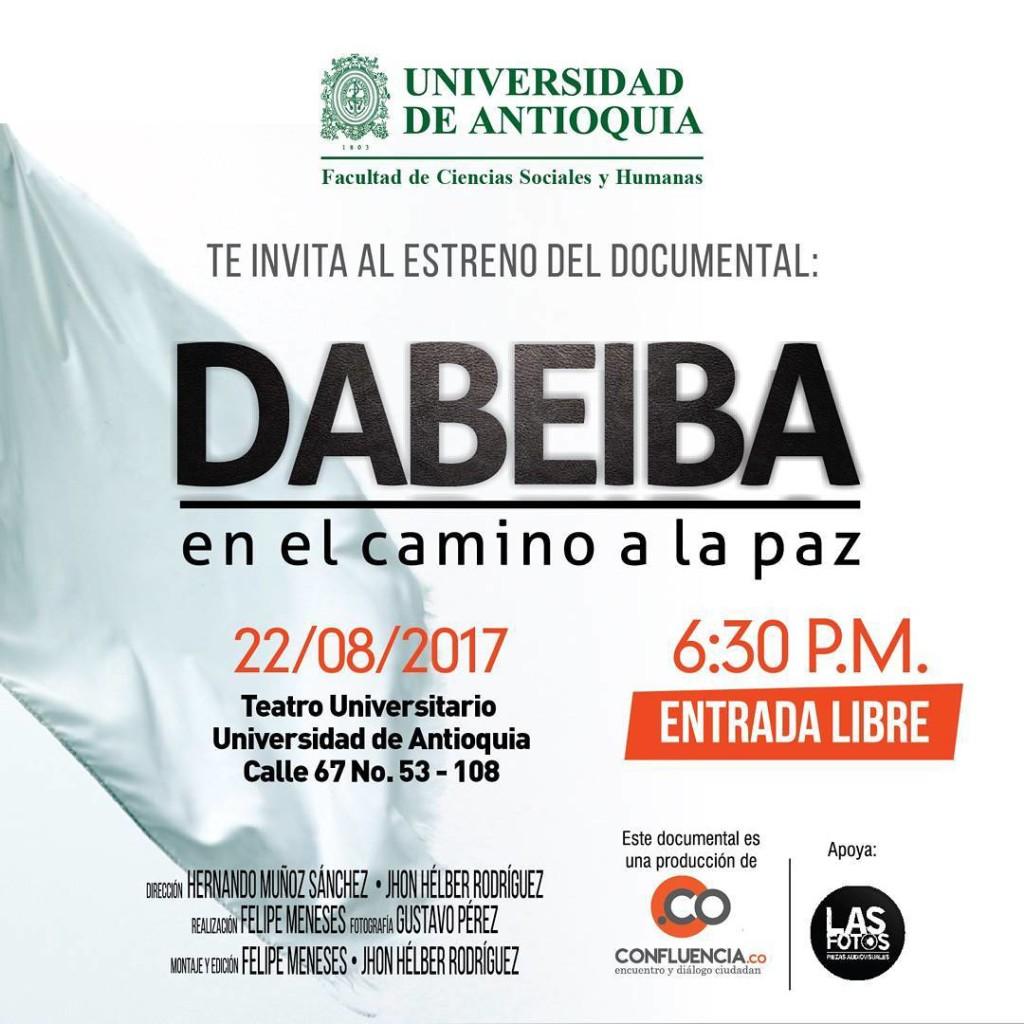 Invitacin para el prximo martes en la Universidad de Antioquiahellip