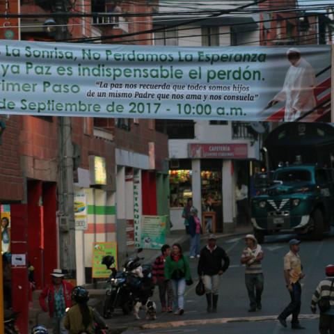 Granada se prepara para el perdón de las Farc
