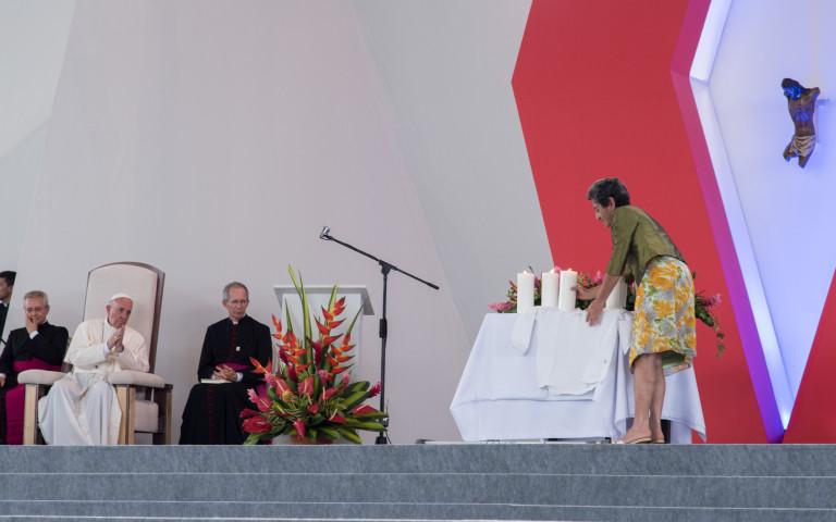 Las frases con las que el Papa respaldó la paz