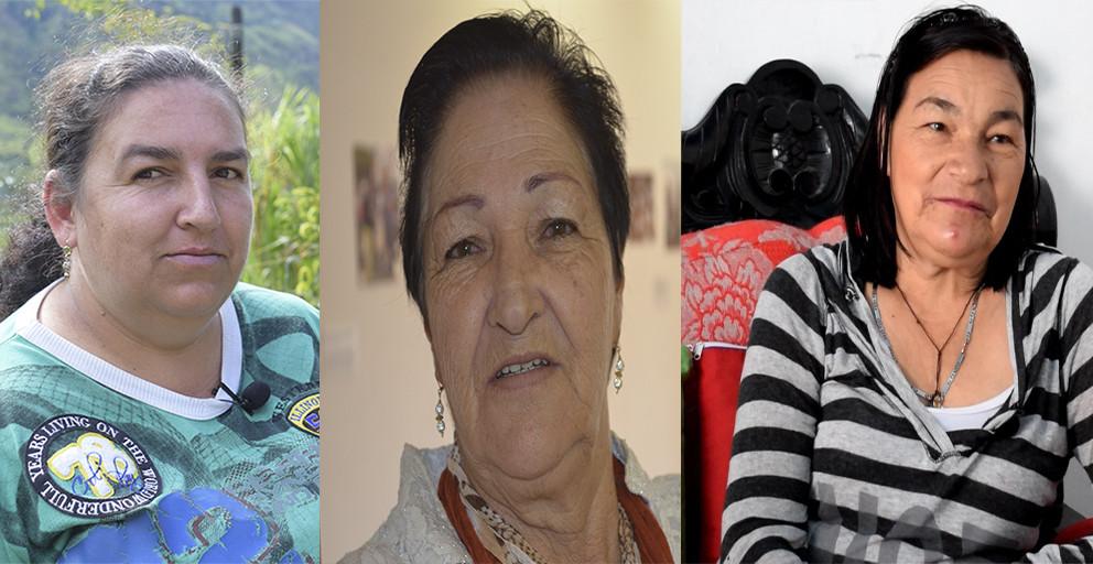 Tres mujeres que no sucumbieron ante el dolor