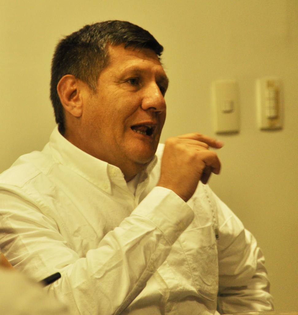 En Medellín la presentación del libro se realizó el 3 de abril en el Concejo de Medellín y en la Universidad San Buenaventura. Foto: Esteban Tavera.